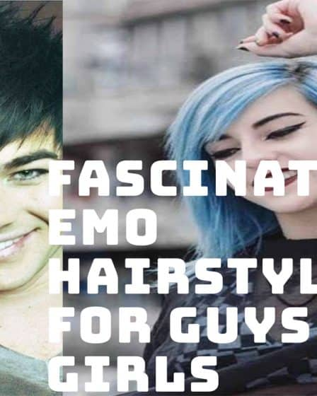 102 Fascinating Emo haircuts for Guys and girls