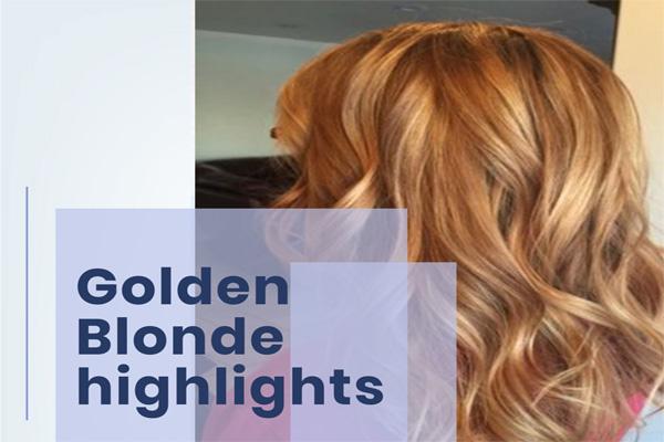 Golden Blonde highlights