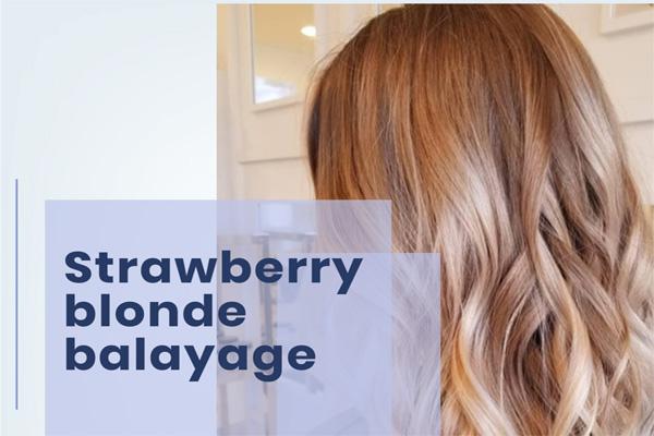 Strawberry blonde balayage