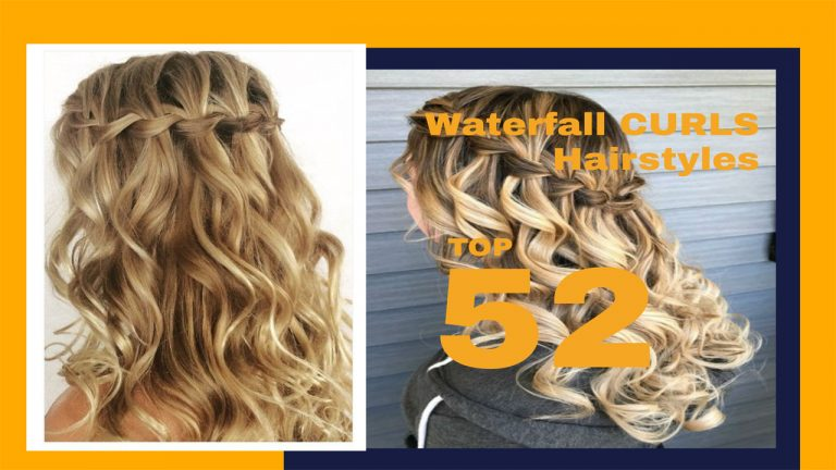 Top 52 Waterfall Braid Hairstyles with Pictures | Waterfall Curls