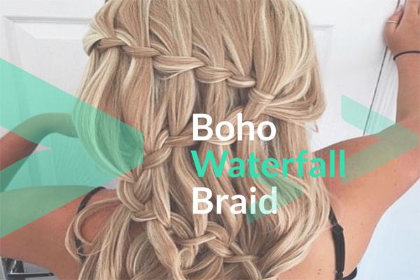 Boho Waterfall Braid