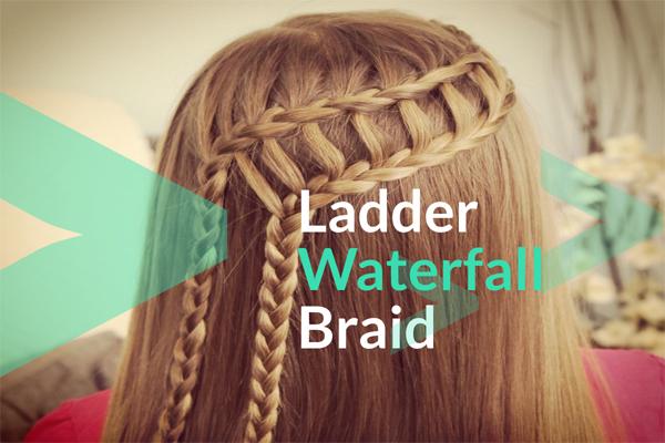 Ladder Waterfall Braid