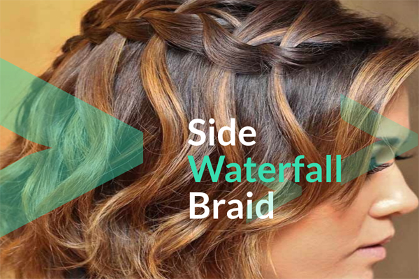 Side Waterfall Braid