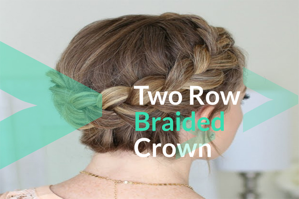 Two Row Braided Crown