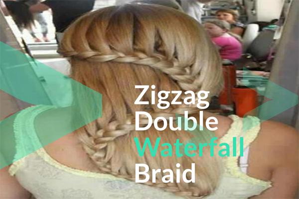 Zigzag Double Waterfall Braid