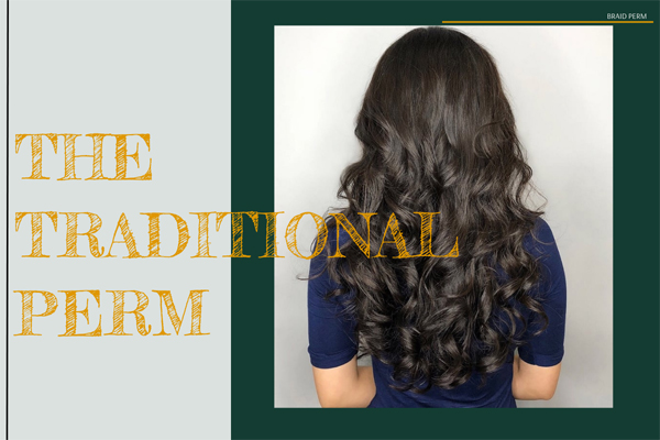 The traditional perm