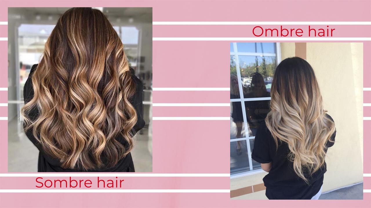 Sombre vs Ombre hair
