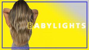 babylights hair