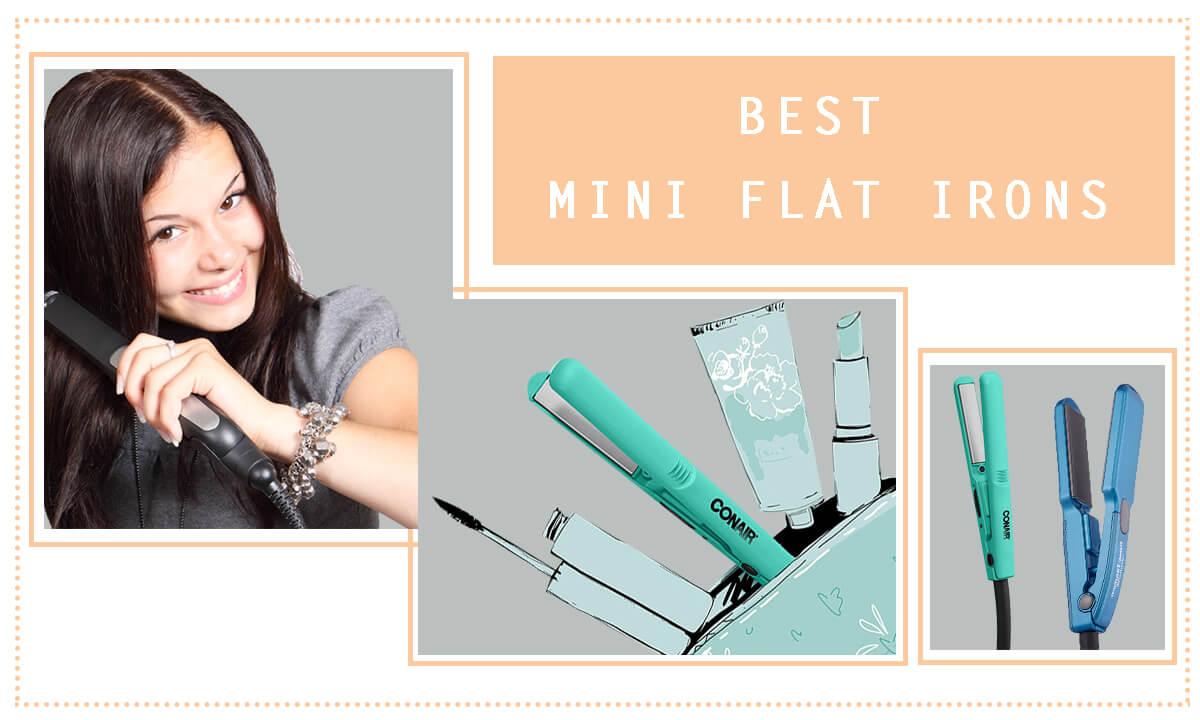 Best Mini Flat Iron Top 3 Best Mini Flat Irons Review And Comparison Hair Trends