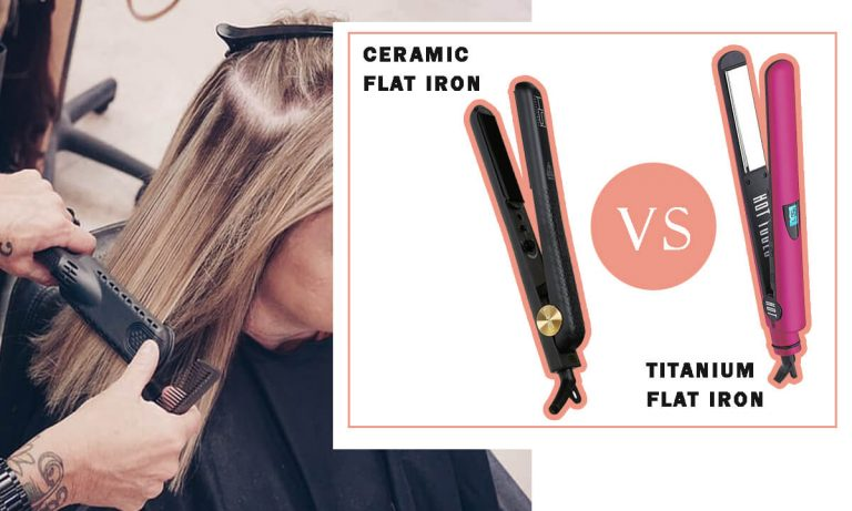 Ceramic vs Titanium Flat Iron | Which is Better for Natural Hair?