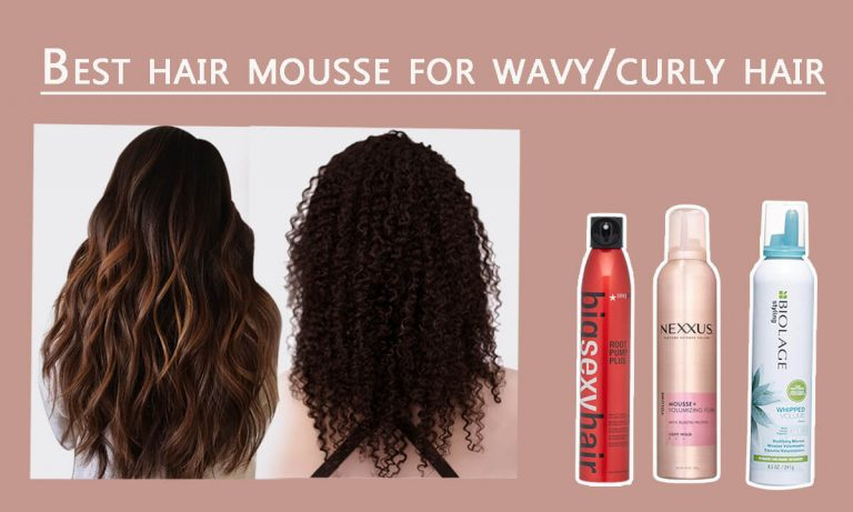 Types of Hair Mousse | Top 5 Best Hair Mousse for Curly Hair