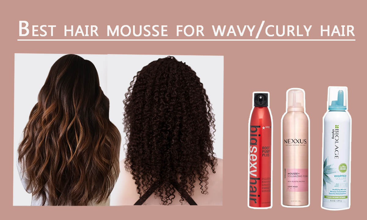 Best Hair Mousse for Curly Hair