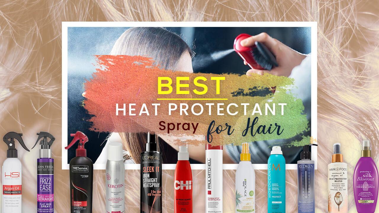 Best Heat Protectant Spray for Hair