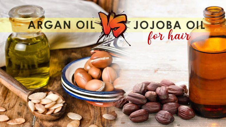 Argan Oil vs Jojoba Oil for Hair | Which is better for Natural Hair