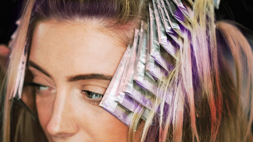 foilage - transitioning to gray hair
