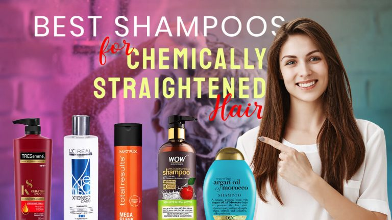 Best Shampoo for Chemically Straightened Hair | Top 5 Shampoos