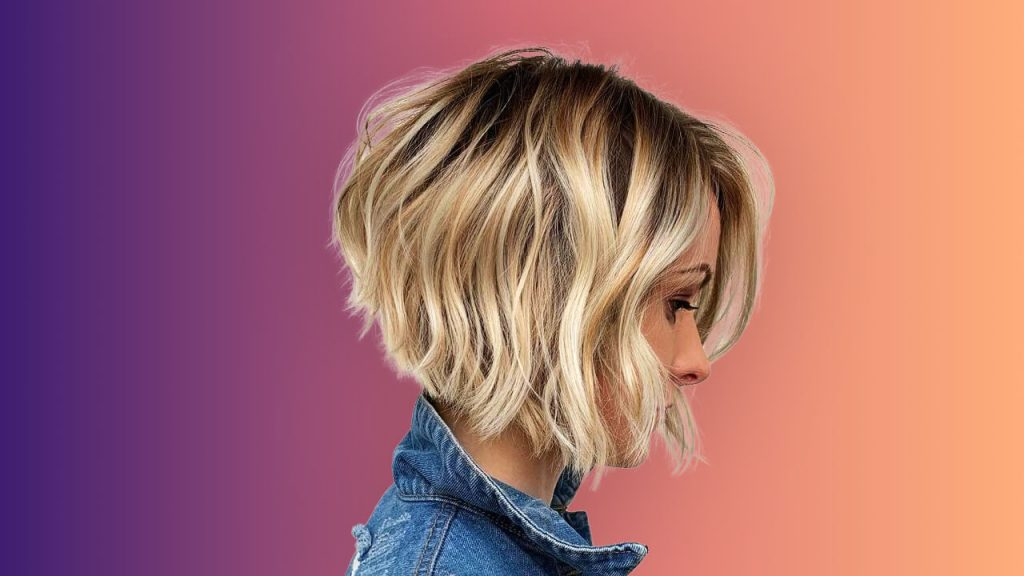 Stylish Perm Hairstyles - Wavy bob