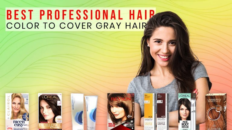 Top 7 Best Professional Hair Colors to Cover Gray Hair | Precautions & Buyer Guide
