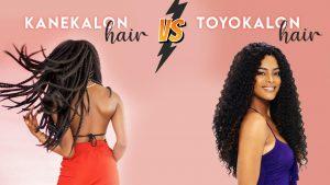 kanekalon hair vs toyokalon hair