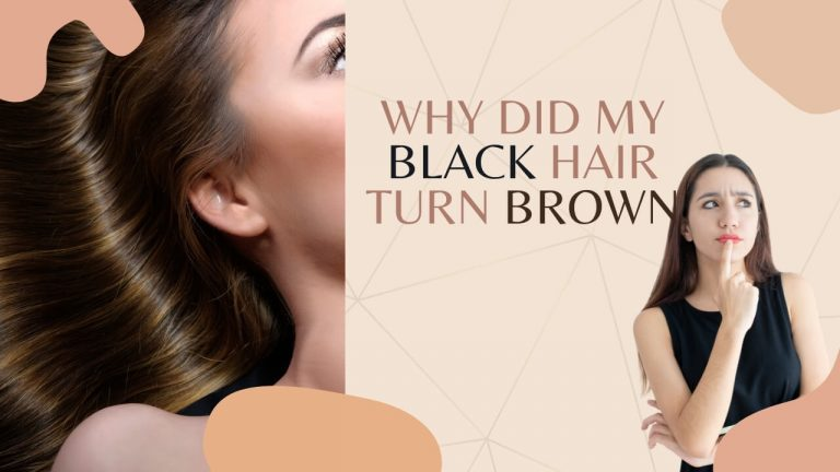 How do you keep Black Hair from turning Brown? How to Recover Black Hair?