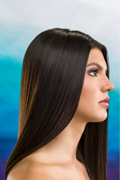 Dark Black / Dark Brown Black Natural Hair Color