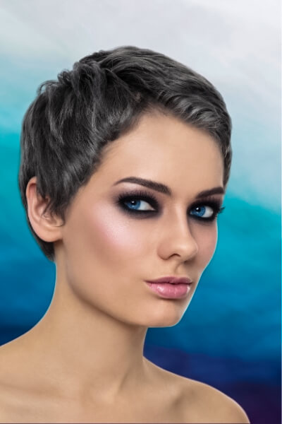 Gray Natural Hair Color
