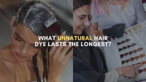 What unnatural hair dye lasts the longest