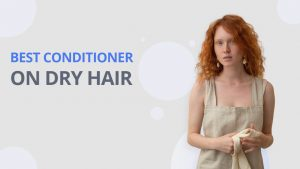 conditioner on dry hair