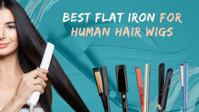 Flat Iron for Human Hair Wigs | Top 5 Flat Irons from Popular Brands