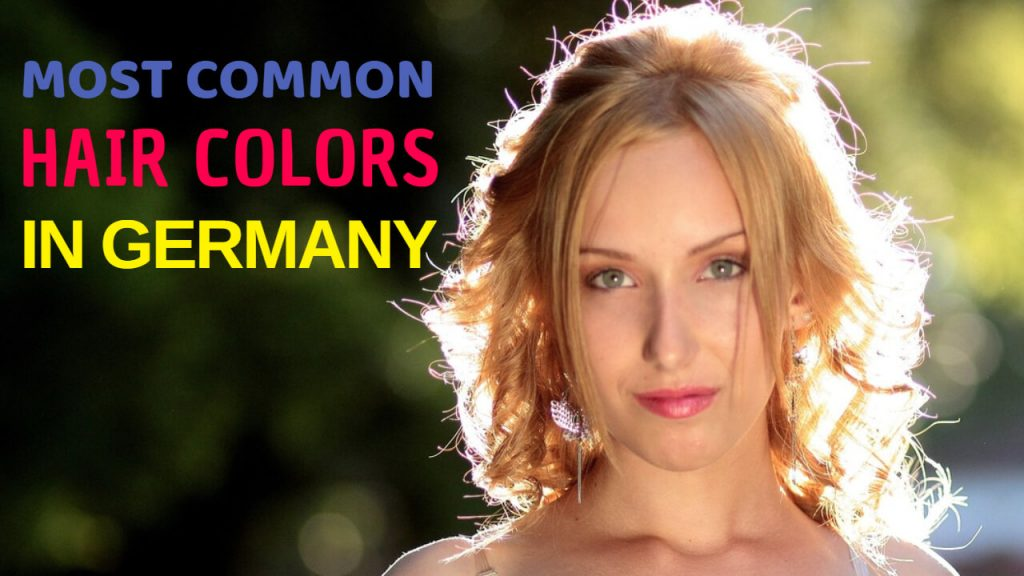 Popular Hair Colors in Germany