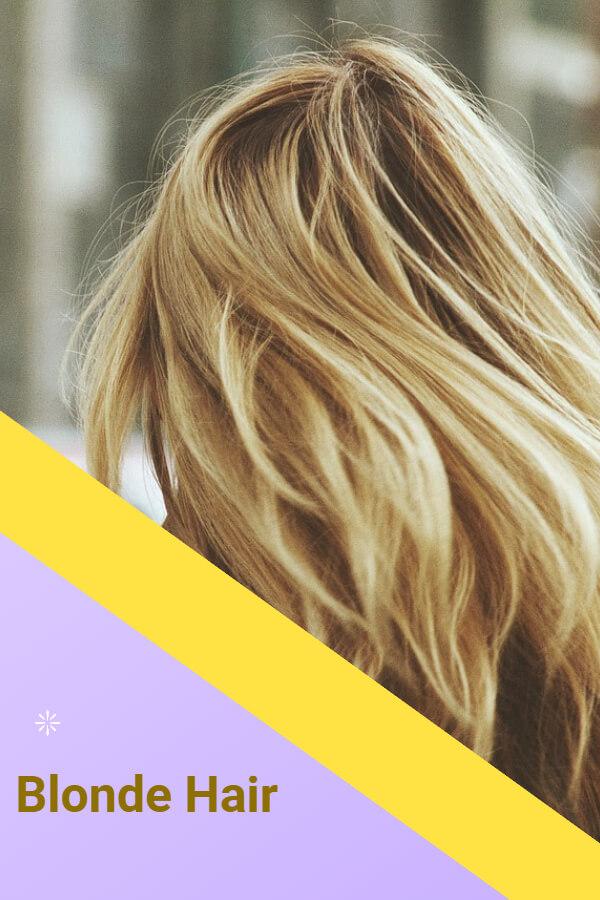 Blonde - popular hair color in France