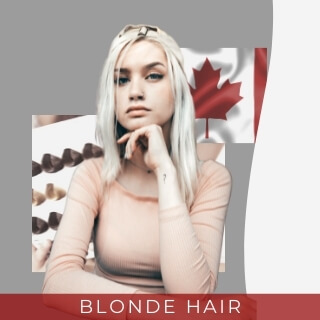 blonde hair - one of the most  common hair color in canada