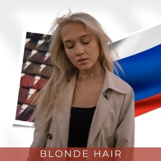 Blonde - Second Most Popular Hair Color in Russia