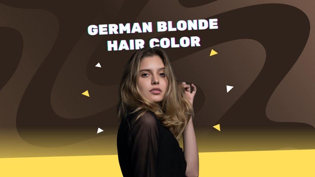 German blonde hair color