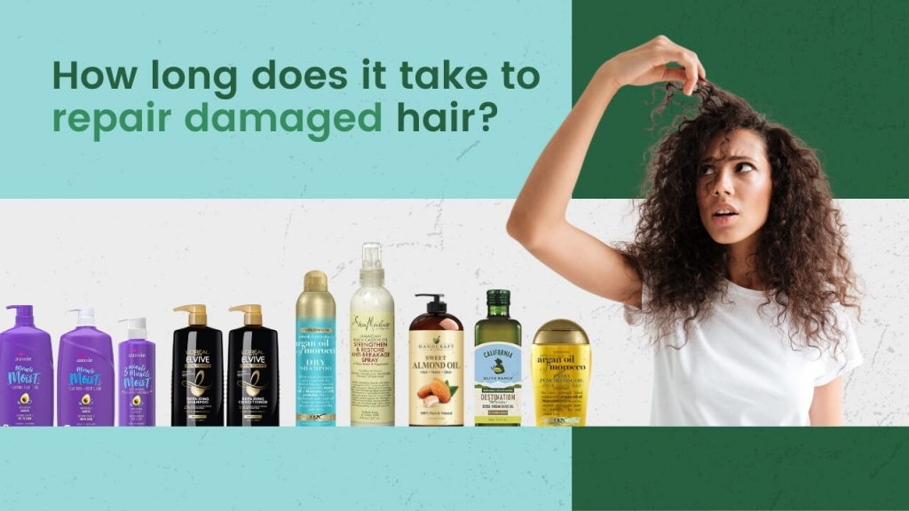 How long does it take to repair damaged hair