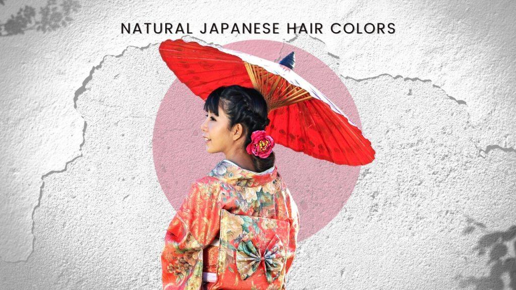 Natural Japanese hair colors