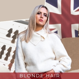 Blonde Hair - Most popular and common hair colour in UK